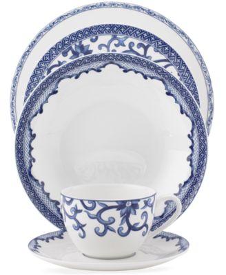 Lauren Ralph Lauren Dinnerware, Mandarin Blue 5 Piece Place Setting