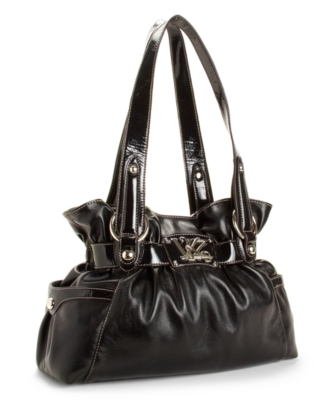 Kathy Van Zeeland Handbag, Triple Play Belted Shopper