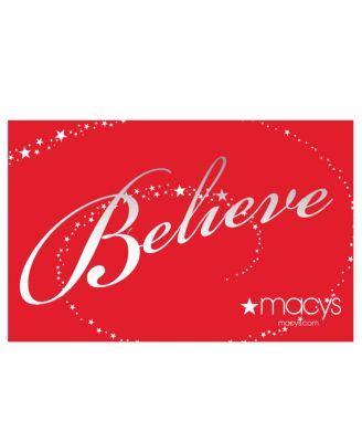 Believe Holiday Gift Card with Greeting Card - All Occasions ...