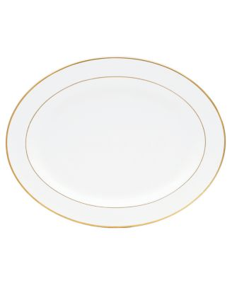 """""""Palmyre"""" Oval Platter, 15"""""""