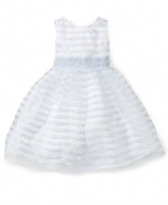 Laura Ashley Little Girl Burnout Chiffon Dress