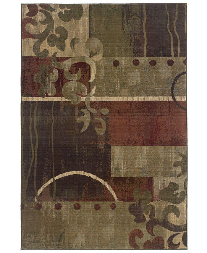 "Oriental Weavers - ""Generations"" 8007A Area Rug, 7' 10"" x 11"""