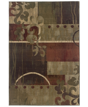 """Sphinx Area Rug, Generations 8007A Tranquility 4' x 5' 9"""""""