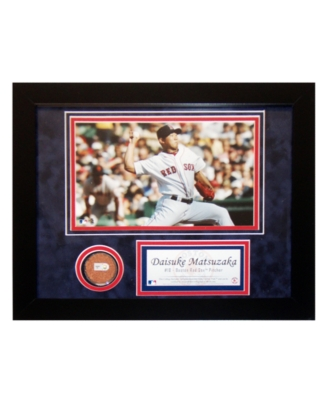 "Steiner Sports Daisuke Matsuzaka Red Sox ""Piece of Fenway"" Field Collage"