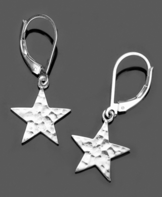 GK Designs Sterling Silver Small Star Earrings