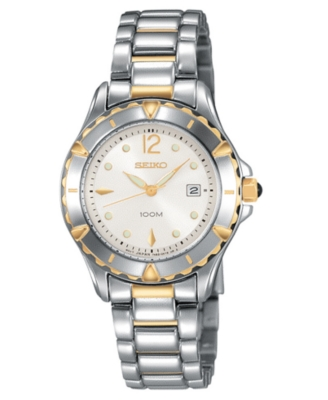 Seiko Watch, Women's Stainless Steel Bracelet SXDA94