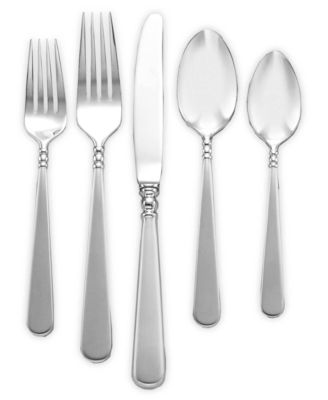 Lenox 18/10 Flatware, Pearl Platinum 5 Piece Place Setting