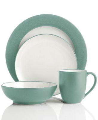 noritake colorwave green dinnerware collection - Noritake Colorwave