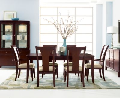 Metropolitan Contemporary Piece Dining Room Furniture Set - Macys dining room sets