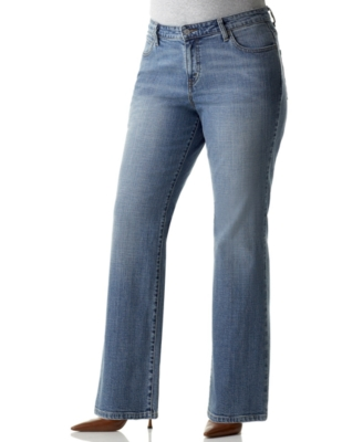 Levi's Plus Size Jeans, 580 Defined Waist Sky Wash