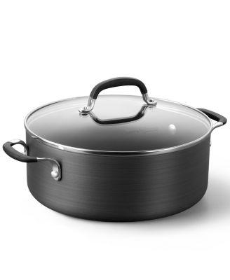 simply calphalon nonstick 5 qt covered chili pot