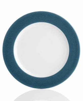 "Noritake ""Colorwave Blue Rim"" Dinner Plate"