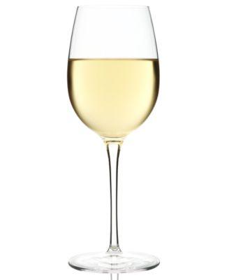 Luigi Bormioli Glassware, Crescendo Chip-Resistant Chardonnay Glasses, Set of 4