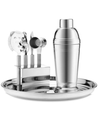 Martha Stewart Collection Barware, Stainless 7-Piece Bar Tool Kit