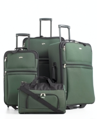 Pierre Cardin Savoy 4-Piece Luggage Set