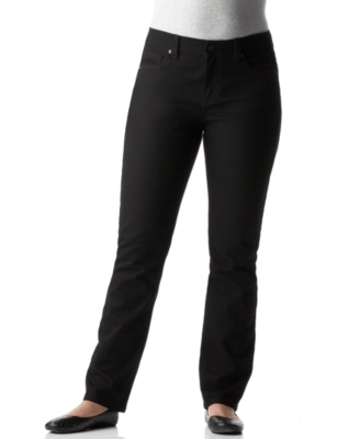 Calvin Klein Jeans Plus Size Jeans, Stretch Skinny Saturated Black Wash