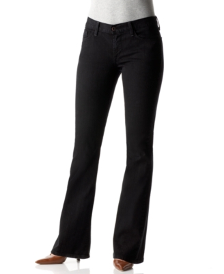 Lucky Brand Jeans Knox Sweet N Low Flare Jeans, Jet Black Wash