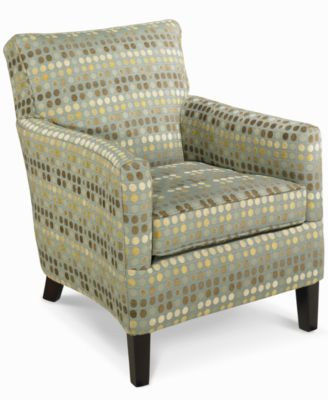 seafoam living room chair, accent - furniture - macy's
