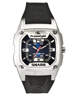 Freestyle Watch, Men's Black Polyurethane Strap FS81283