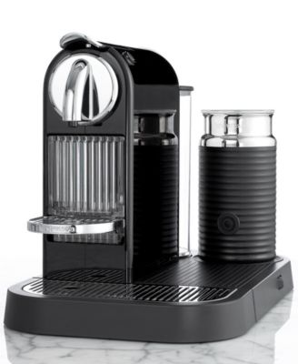 Nespresso C121/D121 Espresso Maker, Citiz and Milk Black
