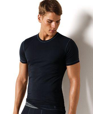 Polo ralph lauren men 39 s underwear stretch jersey t shirt for Stretch polo shirt mens