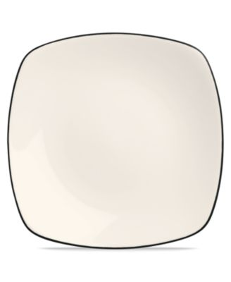Noritake Dinnerware, Colorwave Graphite Square Salad Plate