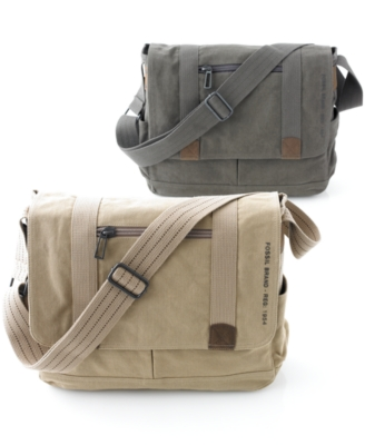 Fossil Bag, Octane East/West Canvas Messenger