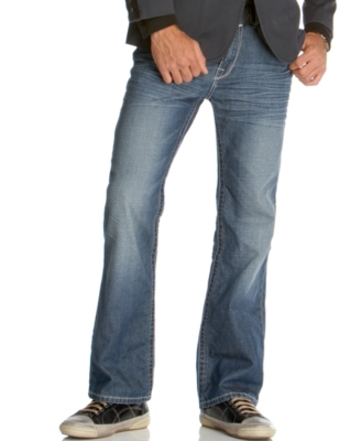 Marc Ecko Cut & Sew Jeans, Black Cross Boot Cut