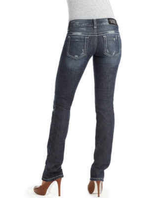 GUESS Jeans, Stretch Daredevil Skinny Heaven Wash