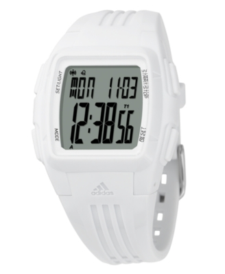 Adidas Watch, Women's White Polyurethane Strap ADP6012