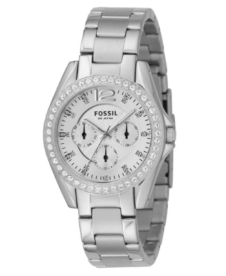 Fossil Watch, Stainless Steel Bracelet ES2203