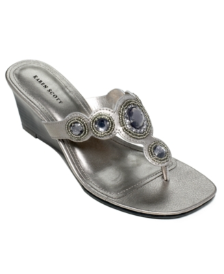 Karen Scott Shoes, Cadi Sandals Women's Shoes