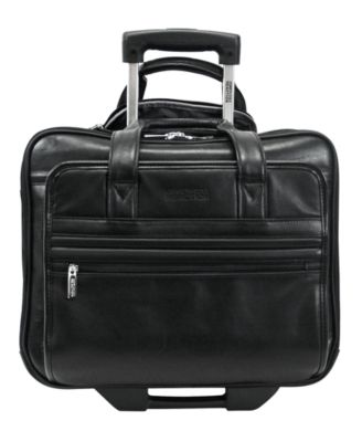 Kenneth Cole Reaction Manhattan Leather Rolling Laptop Briefcase Backpacks Luggage Macy S