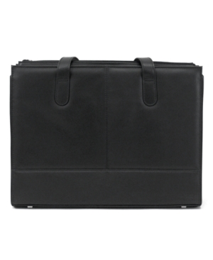 Kenneth Cole Reaction Women's Leather Portfolio, Manhattan Laptop Friendly Briefcase