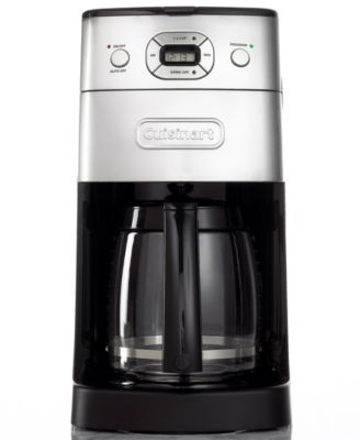 Cuisinart DGB 625 BC Coffee Maker, Grind and Brew 12 Cup Programmable