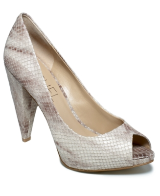 Rachel Roy Shoes, Ellise Peep Toe Pumps Women's Shoes