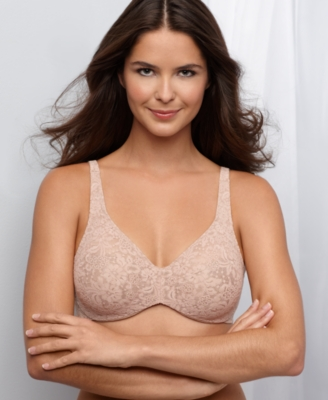 Wacoal Bra, Silver Halo Lace Full Figure