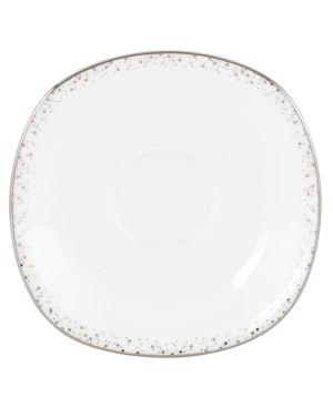 Lenox Lifestyle Dinnerware, Silver Mist Square Saucer 442269