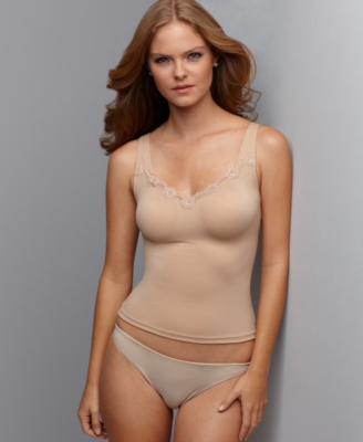 Flexees Camisole, One Fabulous Body Lace Trimmed