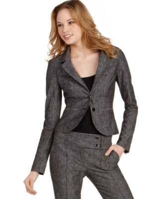 BCX Jacket, Long Sleeve Two Button Suit