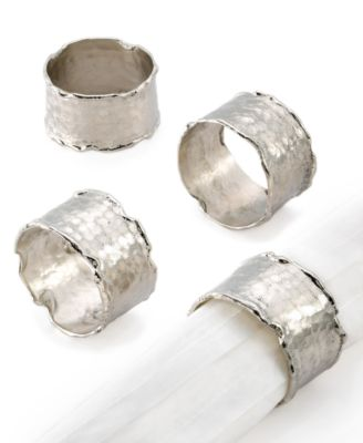 Excell Napkin Rings, Set of 4 Handmade