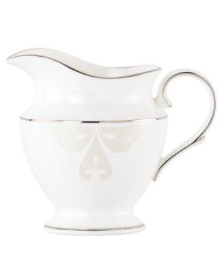 Lenox Dinnerware, Opal Innocence Scroll Creamer