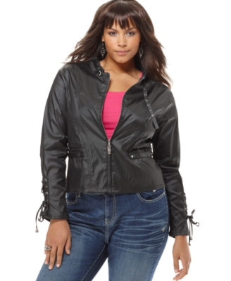 Apple Bottoms Plus Size Jacket, Galactica Cycle Lightweight