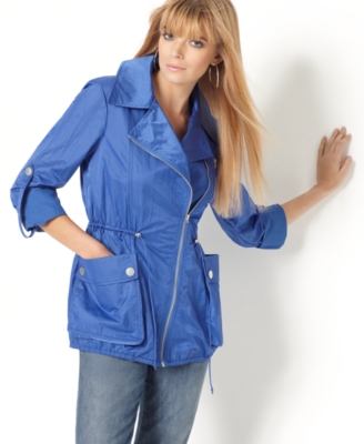 Kensie Jacket, Nylon Roll Cuff