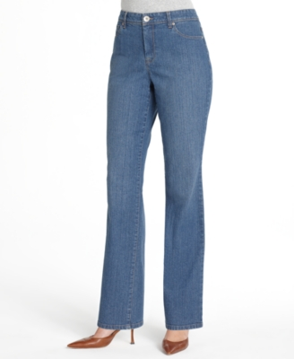Style&co. Jeans, Embroidered Back Pocket Straight Leg