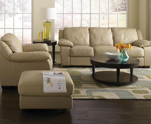 Blair Leather Sofa - Furniture - Macy\'s