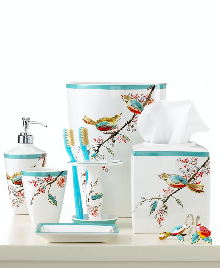 Lenox Simply Fine Bath Accessories Chirp Tumbler Reviews Bathroom Bed Macy S