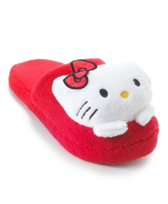 Hello Kitty Slipper, Plush Slip On