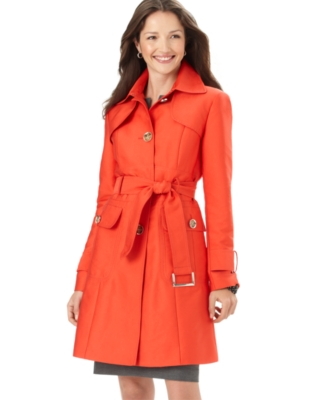 Kenneth Cole Coat, Cotton Trenchcoat