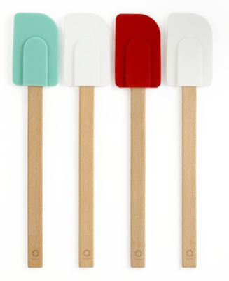Martha Stewart Collection Set of 4 Sillicone Head Spatulas